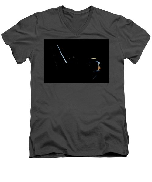 Men's V-Neck T-Shirt featuring the photograph Cessna Art IIiv by Paul Job