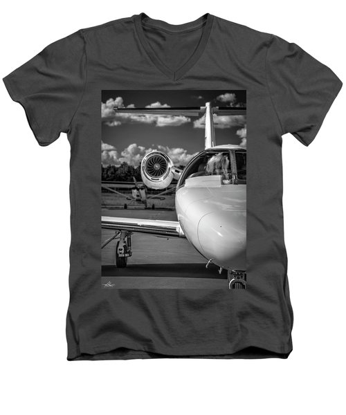 Cessna Citation Men's V-Neck T-Shirt