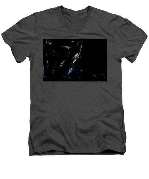 Men's V-Neck T-Shirt featuring the photograph Cessna Views I by Paul Job