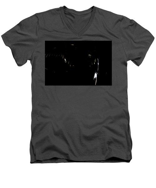 Men's V-Neck T-Shirt featuring the photograph Cessna Views II by Paul Job