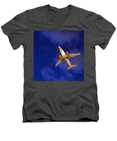 Cgh: Landing Authorized Men's V-Neck T-Shirt