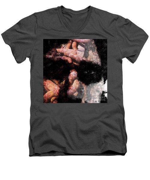 Chained Men's V-Neck T-Shirt