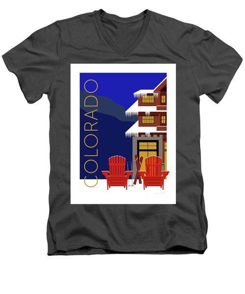 Colorado Chairs Men's V-Neck T-Shirt