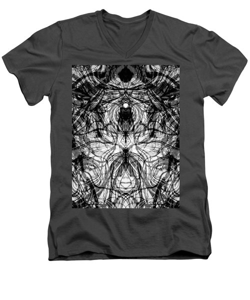 Chakra Flow Men's V-Neck T-Shirt