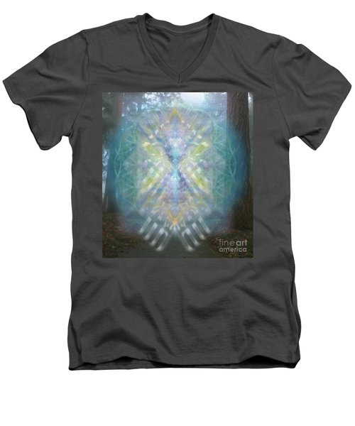 Chalice-tree Spirit In The Forest V1 Men's V-Neck T-Shirt