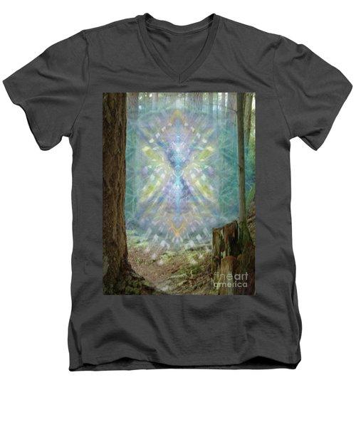 Chalice-tree Spirt In The Forest V2 Men's V-Neck T-Shirt