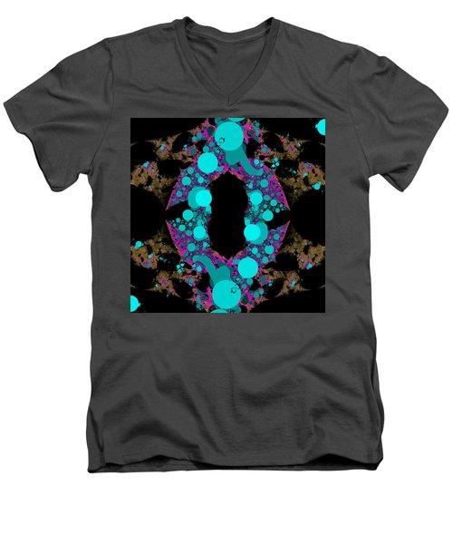 Chamention Men's V-Neck T-Shirt