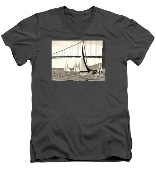 Changes In Attitude Men's V-Neck T-Shirt