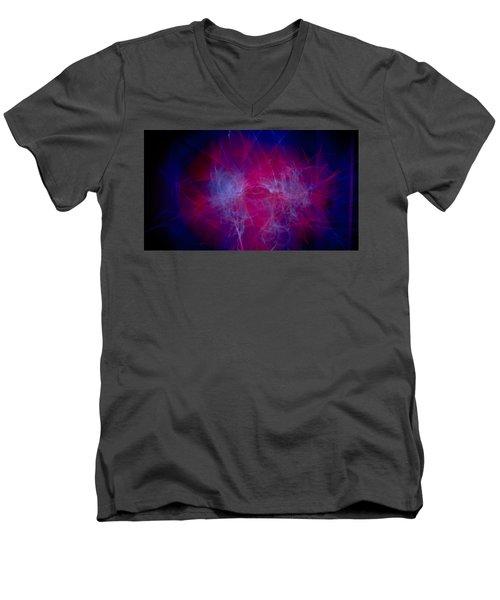Chaos Men's V-Neck T-Shirt by Hyuntae Kim