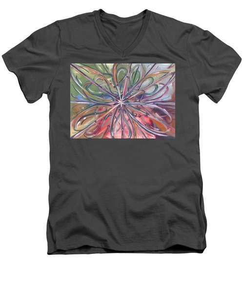 Chaotic Beauty Men's V-Neck T-Shirt