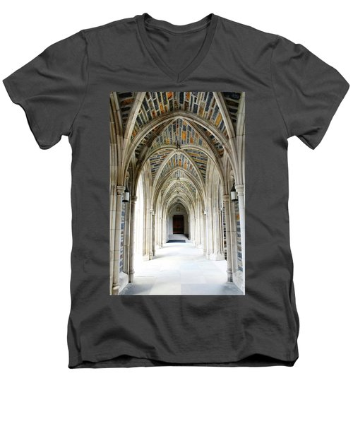 Chapel Archway Men's V-Neck T-Shirt