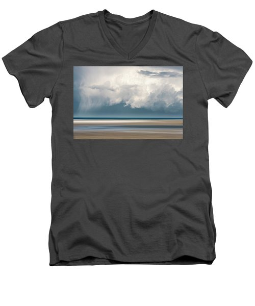 Chapin Beach 3 Men's V-Neck T-Shirt