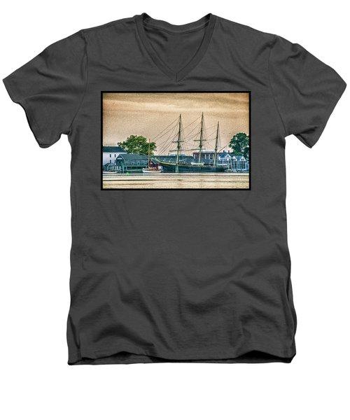 Charles W. Morgan #1 Men's V-Neck T-Shirt