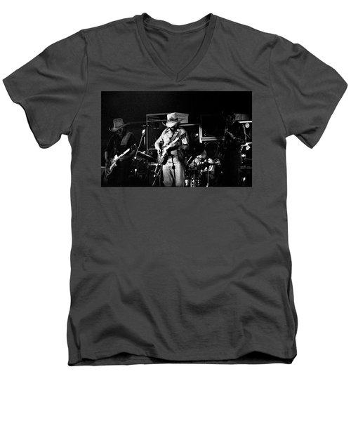 Charlie Daniels  Men's V-Neck T-Shirt