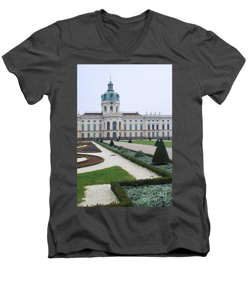 Charlottenburg Castle Berlin Men's V-Neck T-Shirt
