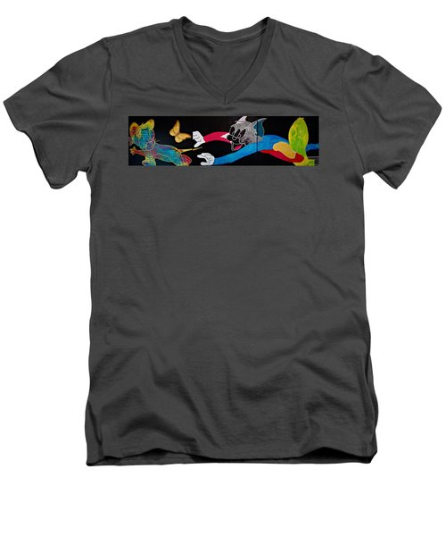 Chase Your Dream Men's V-Neck T-Shirt