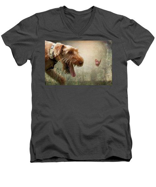 Chasing Dreams Men's V-Neck T-Shirt