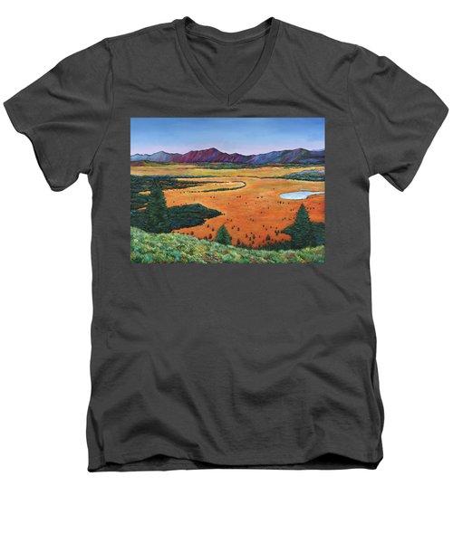 Chasing Heaven Men's V-Neck T-Shirt