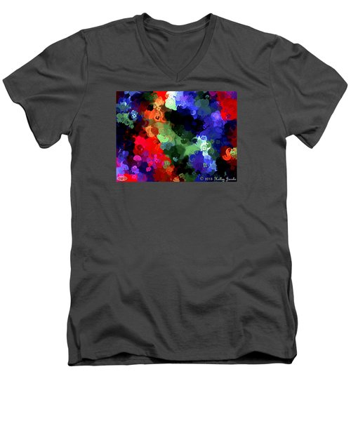 Chasing Sleep Men's V-Neck T-Shirt by Holley Jacobs
