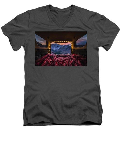 Chasing Sunset Men's V-Neck T-Shirt