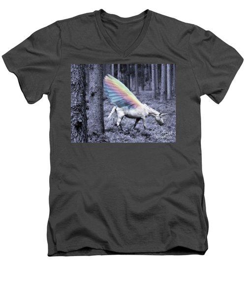 Chasing The Unicorn Men's V-Neck T-Shirt