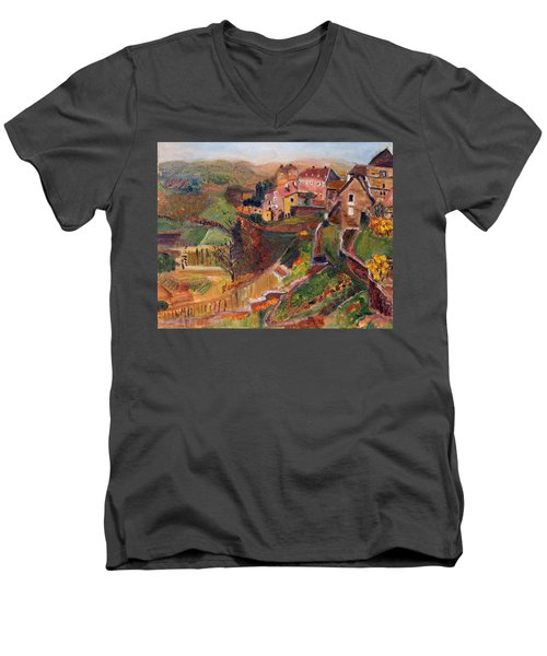 Chateau Chalon Men's V-Neck T-Shirt