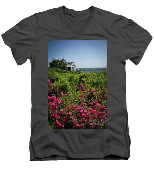 Chatham Boathouse Men's V-Neck T-Shirt
