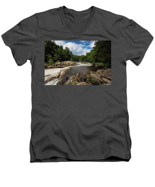 Chattooga Bull Sluice Men's V-Neck T-Shirt