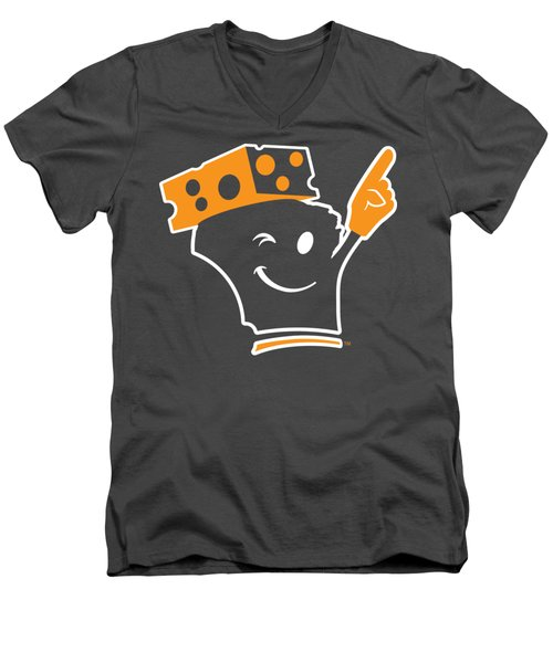 Cheeseheader Men's V-Neck T-Shirt