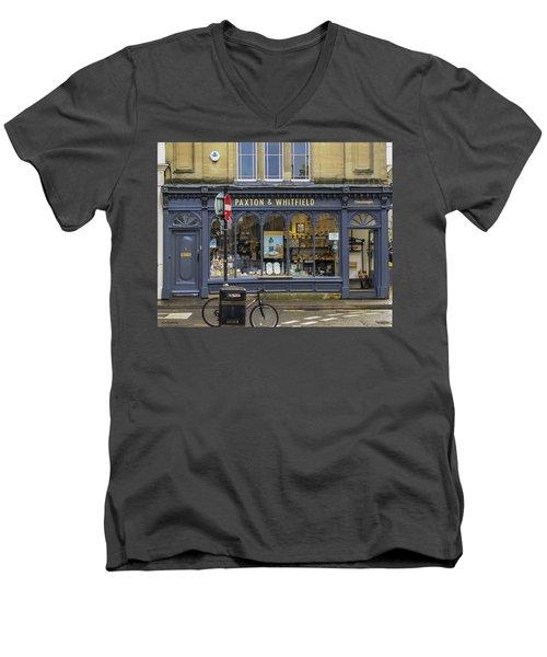 Cheesemonger Shop Men's V-Neck T-Shirt