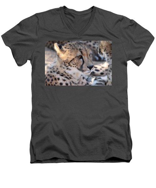Cheetah And Friends Men's V-Neck T-Shirt