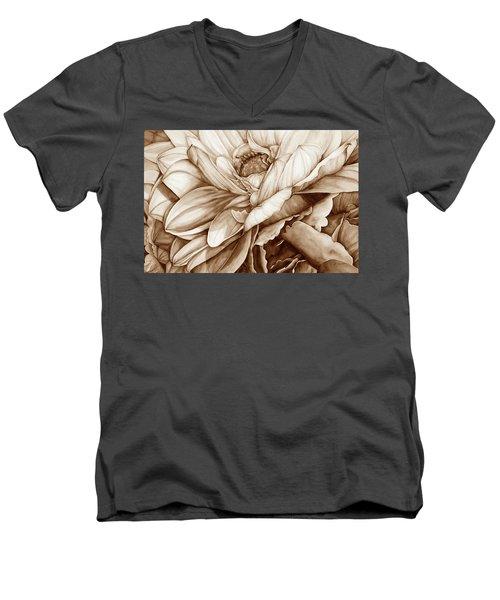 Chelsea's Bouquet 2 - Neutral Men's V-Neck T-Shirt