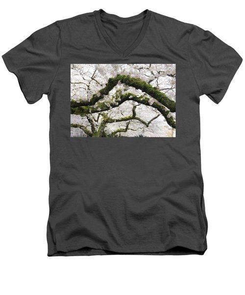 Cherry Blossoms 104 Men's V-Neck T-Shirt