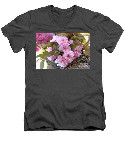 Cherry Blossoms Nbr2 Men's V-Neck T-Shirt