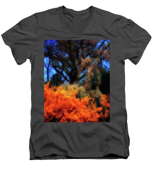Cherry Blossoms P4 Men's V-Neck T-Shirt