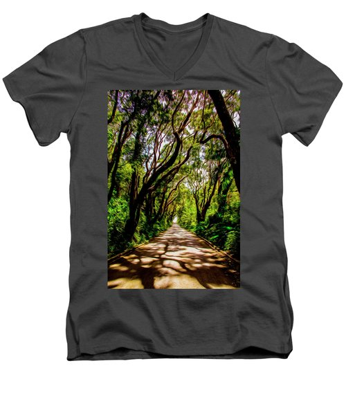 Cherry Tree Hill Men's V-Neck T-Shirt