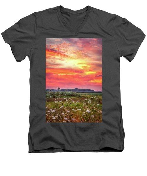 Chesapeake Sunrise I Men's V-Neck T-Shirt