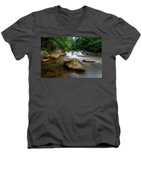Chestnut Creek Falls  Men's V-Neck T-Shirt