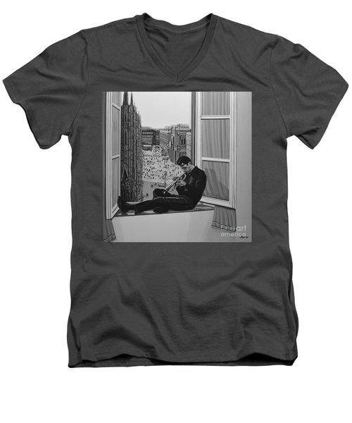 Chet Baker Men's V-Neck T-Shirt