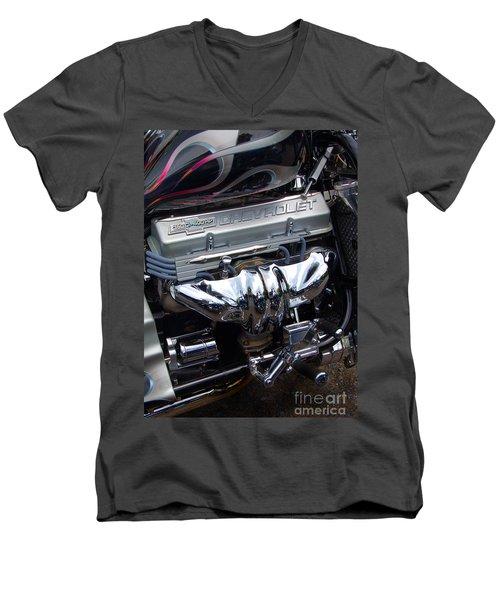 Chevrolet 400 Hp  Men's V-Neck T-Shirt by Diane E Berry