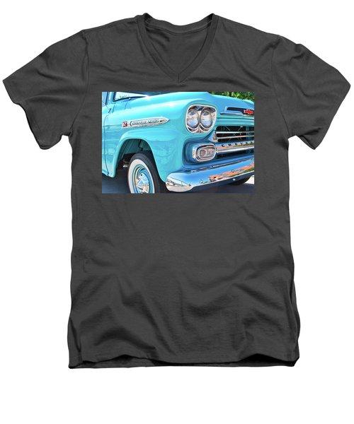 Chevrolet Apache Truck Men's V-Neck T-Shirt