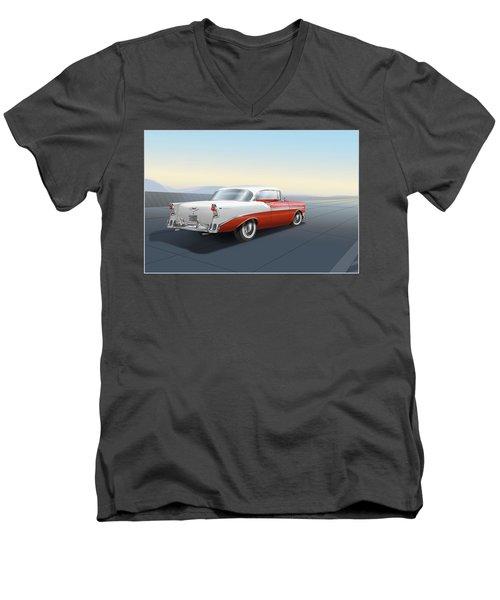 Chevrolet Bel Air Men's V-Neck T-Shirt