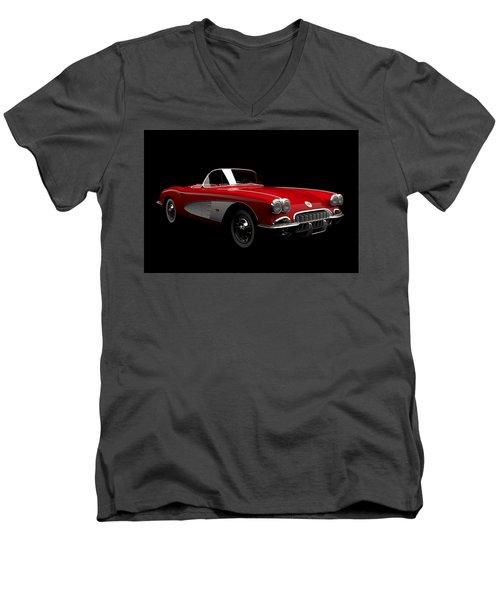 Chevrolet Corvette C1 Men's V-Neck T-Shirt