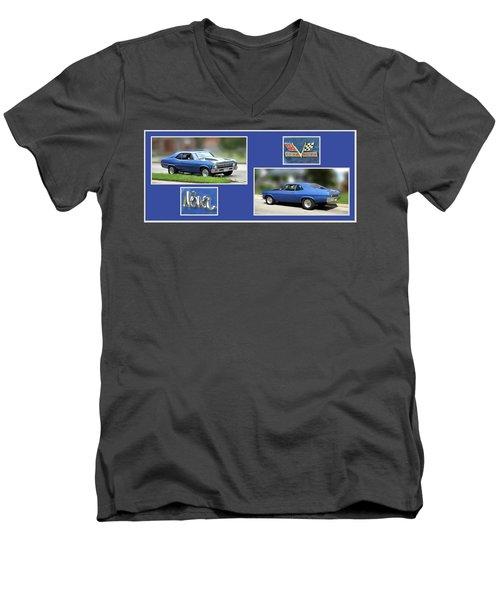 Chevy Nova Horizontal Men's V-Neck T-Shirt
