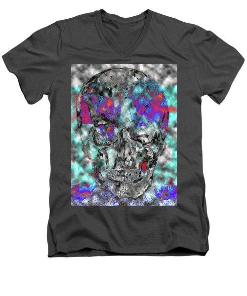 Chic Skull Men's V-Neck T-Shirt
