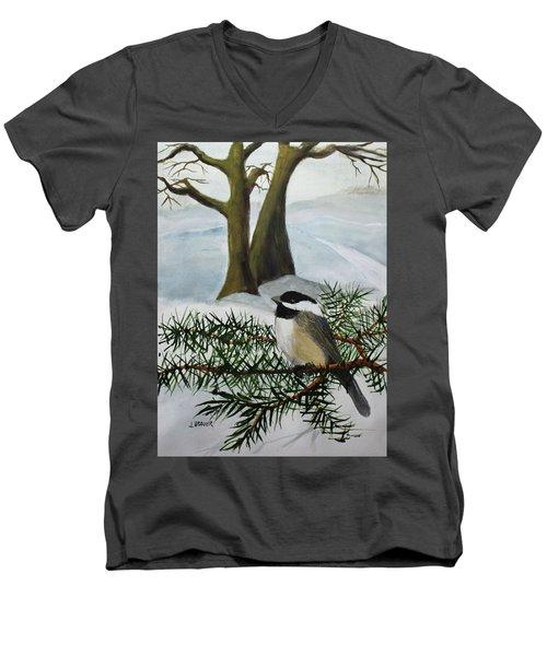 Chicadee  180126 Men's V-Neck T-Shirt