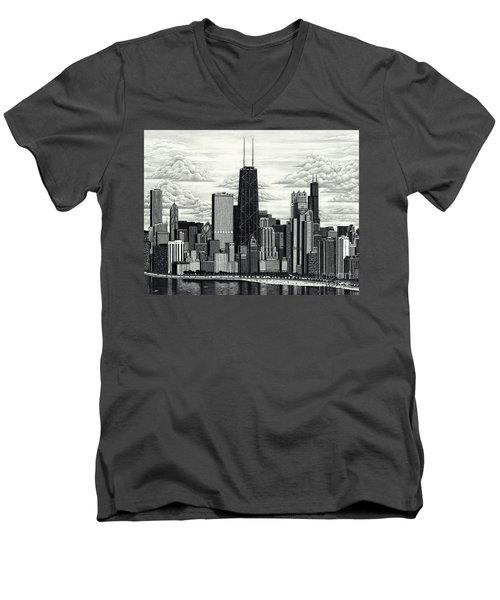 I Love Chicago Volume 1 Men's V-Neck T-Shirt