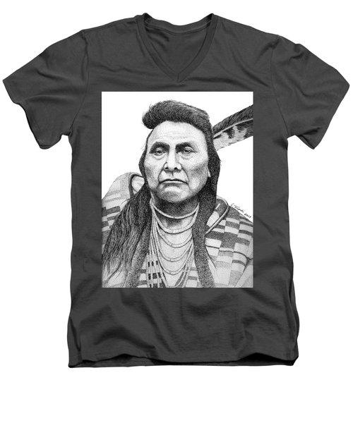 Chief Joseph Men's V-Neck T-Shirt