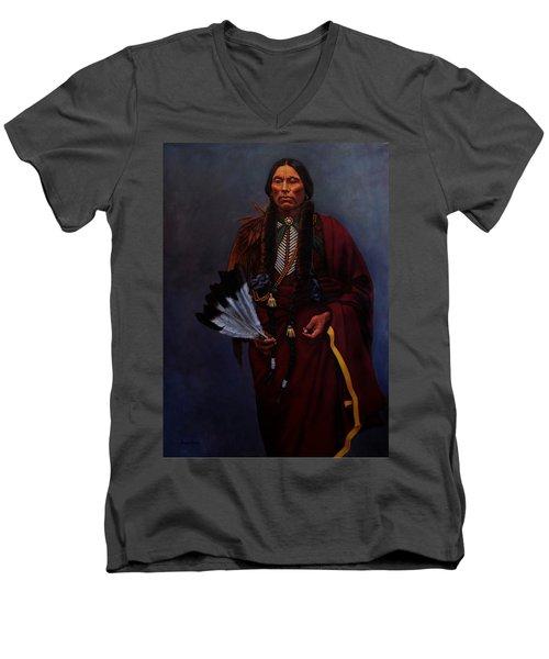Chief Quanah Parker Men's V-Neck T-Shirt
