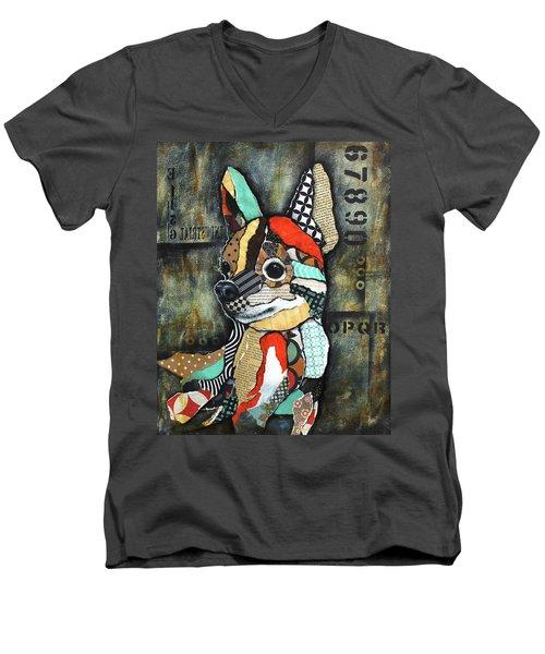 Chihuahua 2 Men's V-Neck T-Shirt